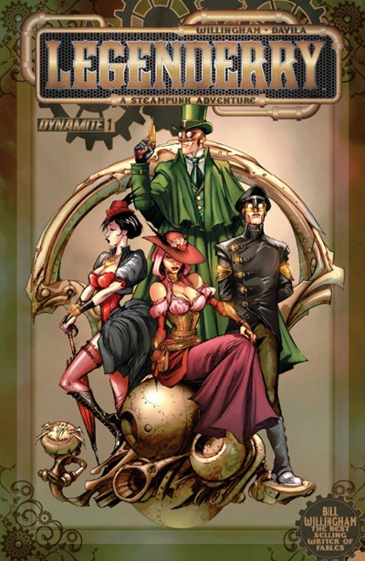 LEGENDERRY A STEAMPUNK ADV