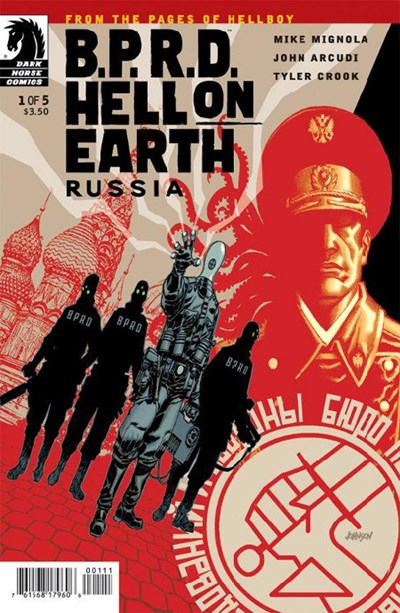 BPRD HELL ON EARTH RUSSIA