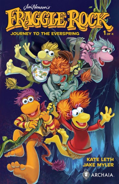 FRAGGLE ROCK JOURNEY EVERSPRING