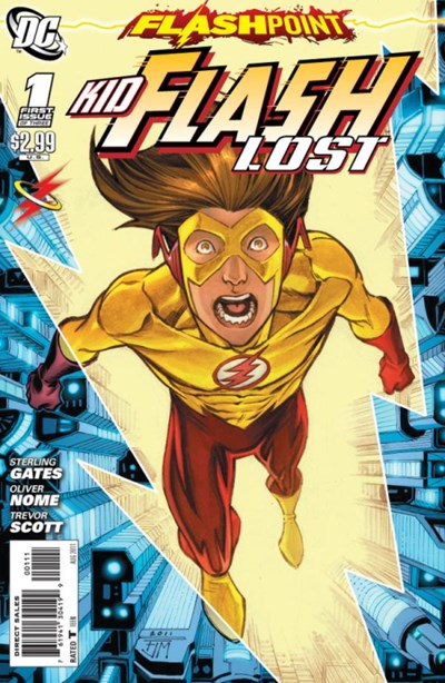 FLASHPOINT KID FLASH LOST STARRING BART ALLEN