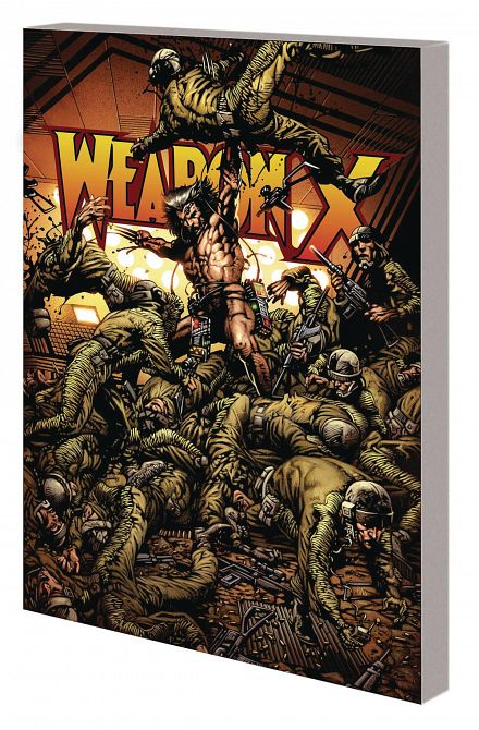 WOLVERINE TP WEAPON X NEW PTG