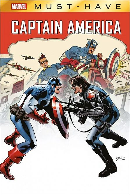 MARVEL MUST-HAVE: CAPTAIN AMERICA – WINTER SOLDIER