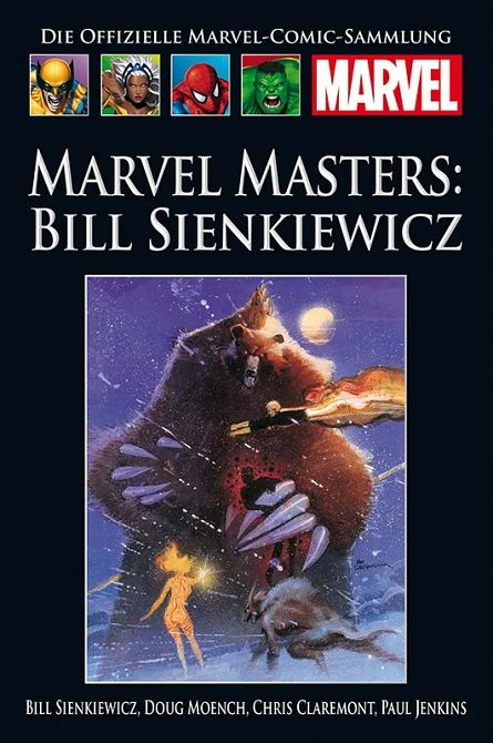 HACHETTE PANINI MARVEL COLLECTION 210: Marvel Masters: Bill Sienkiewicz #210