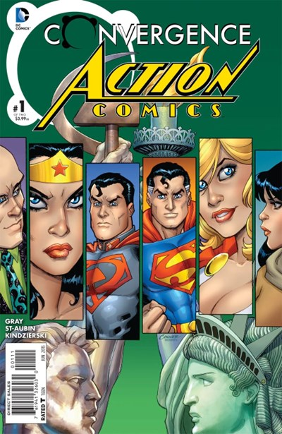 CONVERGENCE ACTION COMICS (2015)