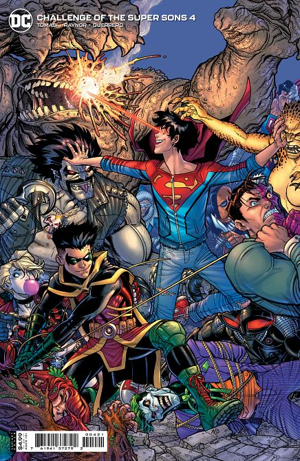 CHALLENGE OF THE SUPER SONS #4