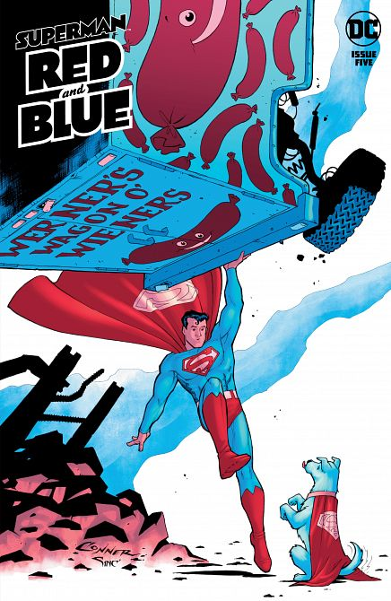 SUPERMAN RED & BLUE #5