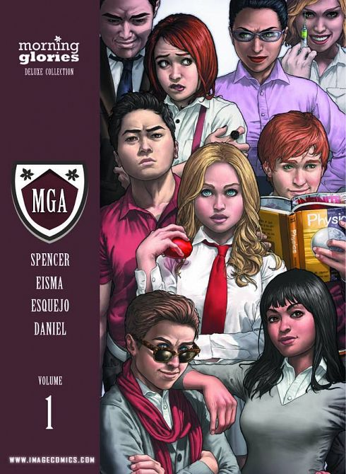 MORNING GLORIES DELUXE HC VOL 01